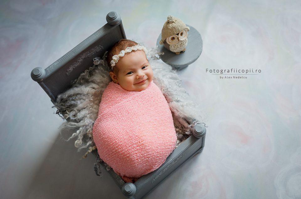 Ședințele foto cu nou-născuți, o experiență unică